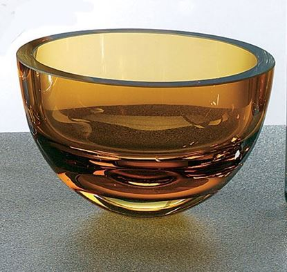 "Picture of BOWL 6"" AMBER PENELOPE"