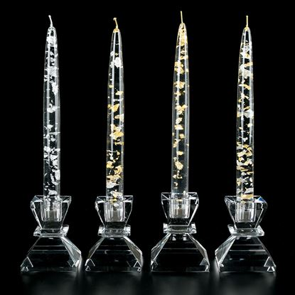 Picture of 4 PC CANDLESTICK SET