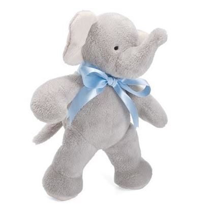 "Picture of FIRST FRIENDS ELEPHANT 11"" BLUE"