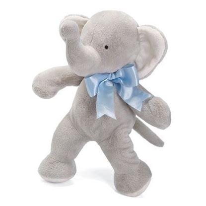 "Picture of FIRST FRIENDS ELEPHANT 16"" BLUE"