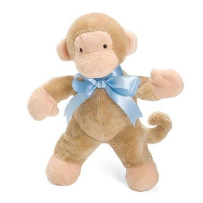 "Picture of FIRST FRIENDS MONKEY 11"" BLUE"
