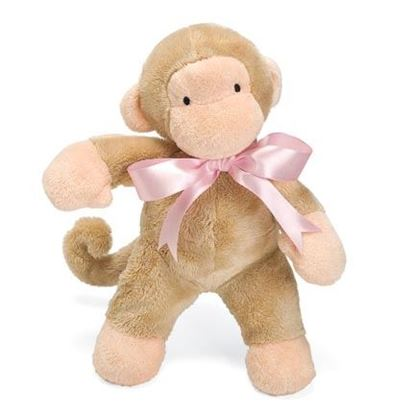 """Picture of FIRST FRIENDS MONKEY 11"""" PINK"""