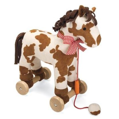 Picture of PULL-A-LONG PONY