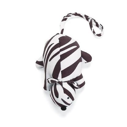 Picture of SQUEAKY CLEAN MOUSE ZEBRA