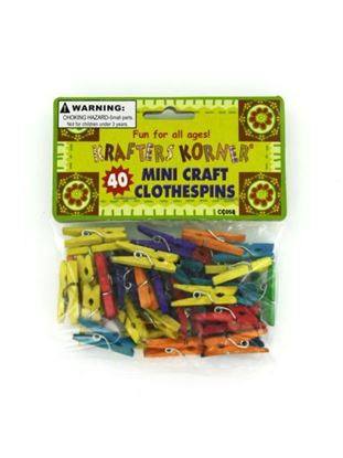 Picture of Miniature craft clothespins (Available in a pack of 24)