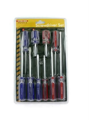 Picture of Deluxe screwdriver set (Available in a pack of 3)