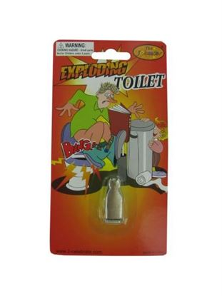 Picture of Joke exploding toilet (Available in a pack of 24)