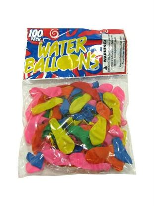 Picture of Water balloons, pack of 100 (Available in a pack of 25)