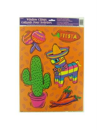 Picture of Fiesta window clings (Available in a pack of 24)
