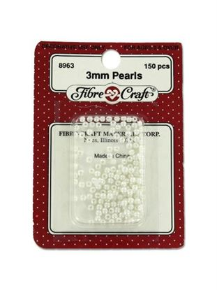 Picture of 3MM Crafting pearls (Available in a pack of 24)