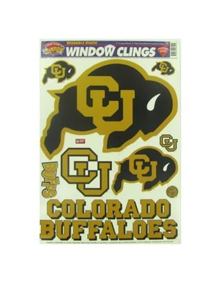 Picture of Colorado University Buffaloes window clings (Available in a pack of 24)