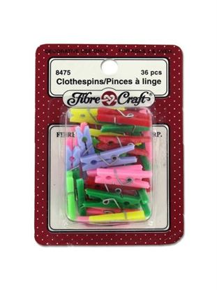Picture of Miniature crafting clothespins (Available in a pack of 24)