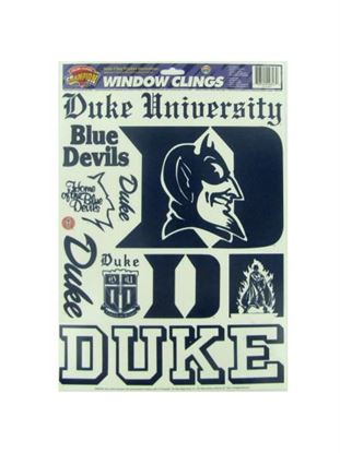 Picture of Duke Blue Devils window clings (Available in a pack of 24)