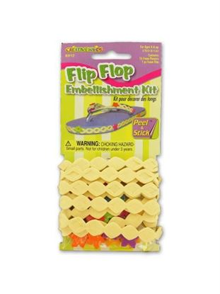 Picture of Flip flop embellishment kit (Available in a pack of 18)