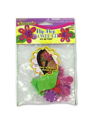 Picture of Flip flop design craft kit (Available in a pack of 18)