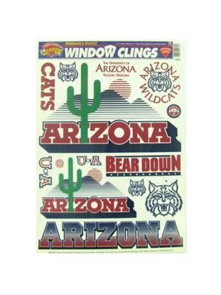 Picture of Arizona Wildcats window clings (Available in a pack of 24)