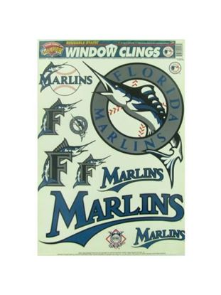 Picture of Florida Marlins window clings (Available in a pack of 24)