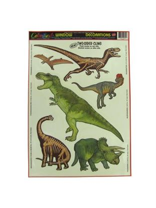 Picture of Dinosaur window clings (Available in a pack of 30)