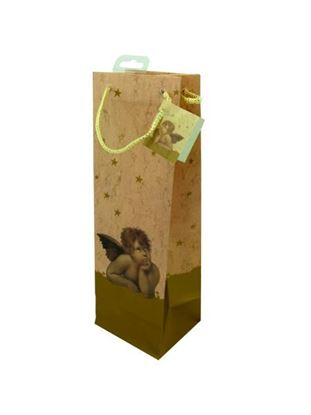 Picture of Angel design bottle gift bag (Available in a pack of 24)