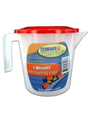 Picture of Measuring cup with lid (Available in a pack of 18)