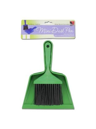 Picture of Mini brush and dust pan set (Available in a pack of 24)