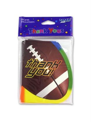Picture of Thank You football cards (Available in a pack of 24)